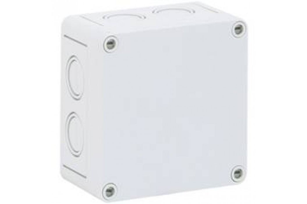 Inštalačná krabička Spelsberg TK PC 1111-7-M 12740401, (d x š x v) 110 x 110 x 66 mm, polykarbonát, svetlo sivá, 1 ks
