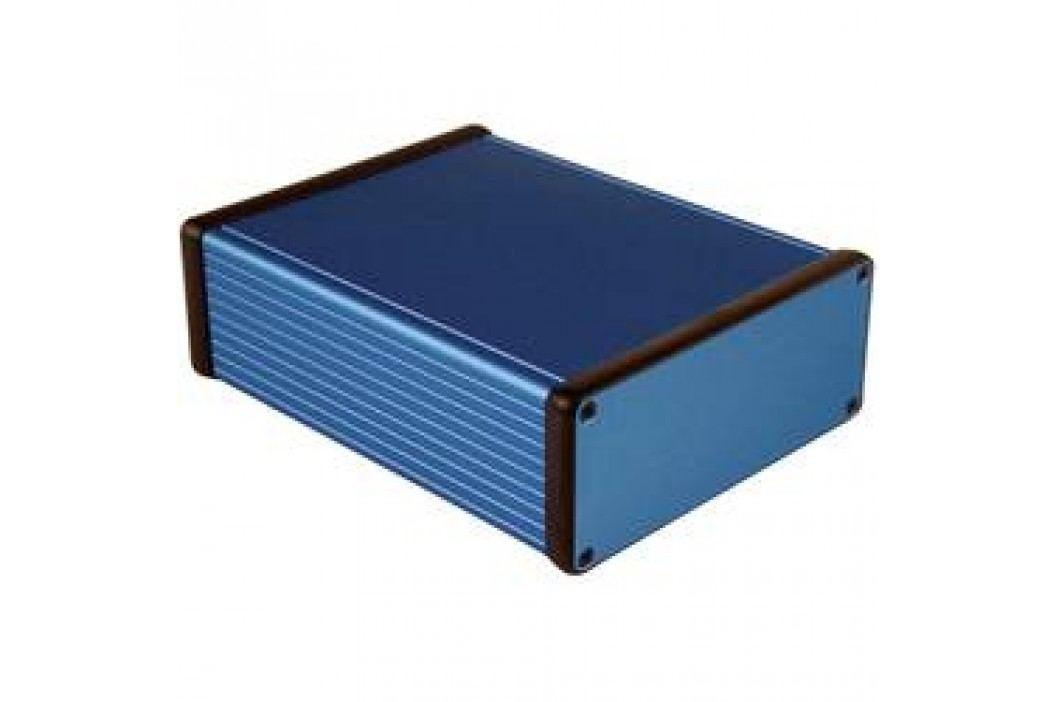 Univerzálne púzdro Hammond Electronics 1455Q1601BU 1455Q1601BU, 160 x 125 x 51.5 , hliník, modrá, 1 ks