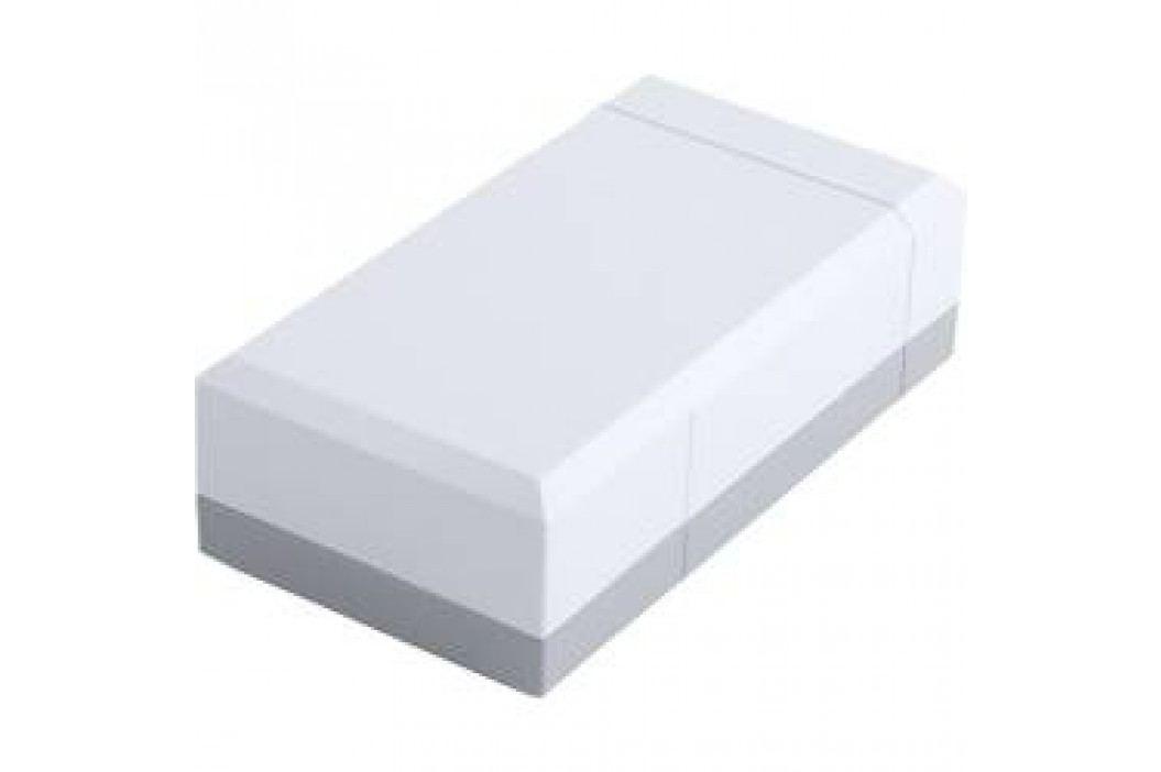 Puzdro na stôl Bopla ELEGANT EG 1240, 125 x 67 x 40 mm, polystyrén, svetlosivá (RAL 7035), 1 ks