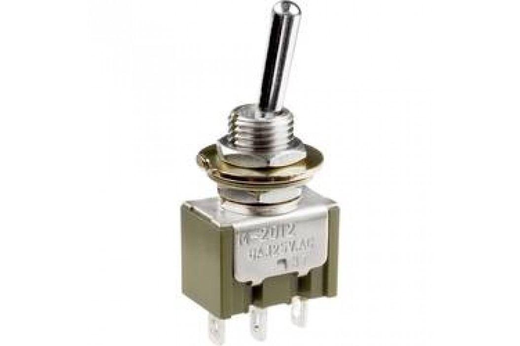 Pákový spínač NKK Switches M2018B2B1W01, 250 V/AC, 3 A, 1 ks