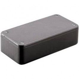 Euro krabice Hammond Electronics 1591VGY 1591VGY, 120 x 120 x 94 , ABS, svetlo sivá (RAL 7035), 1 ks