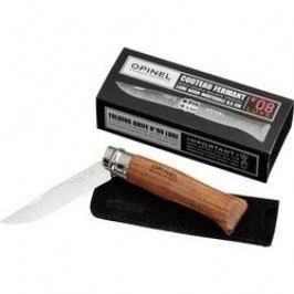 Vreckový nôž Opinel N°08 254030, vel.8, drevo, chróm