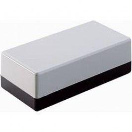 Univerzálne púzdro Strapubox 2002 2002, 129 x 59 x 49 , ABS, sivočierna, 1 ks