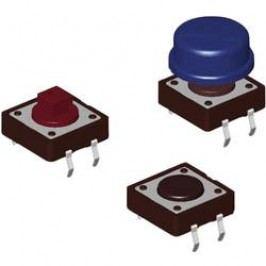 Tlačidlo Diptronics DTS-24S-V, 12 V/DC, 0.05 A, svetločervená, 500 ks