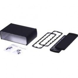 Profilové puzdro Bopla Alubos ABP 1600 84160100.MT5, 100 x 169 x 52 , hliník, čierna, 1 ks