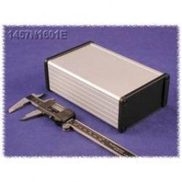 Univerzálne púzdro Hammond Electronics 1457L1201BK 1457L1201BK, 120 x 104 x 32 , hliník, čierna, 1 ks