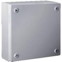 Inštalačná krabička Rittal KL 1511.510 1511.510, (š x v x h) 400 x 400 x 120 mm, oceľový plech, svetlo sivá, 1 ks
