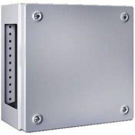 Inštalačná krabička Rittal KL 1539.510 1539.510, (š x v x h) 400 x 400 x 120 mm, oceľový plech, svetlo sivá, 1 ks