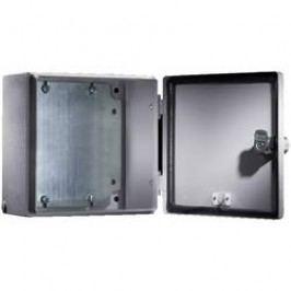 Inštalačná krabička Rittal E-Box 1557.500 1557.500, (š x v x h) 200 x 500 x 120 mm, oceľový plech, svetlo sivá (RAL 7035), 1 ks