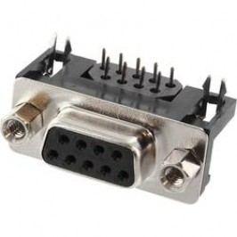 D-SUB zásuvková lišta econ connect BU7F9GA, Počet pinov 9, spájkovacie piny, 1 ks