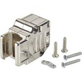 D-SUB púzdro FCI D-SUB 863093C25MLF, Počet pinov: 25, plast, pokovaný, 90 °, strieborná, 1 ks
