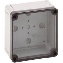 Inštalačná krabička Spelsberg TK PS 1111-7-t 11100401, (d x š x v) 110 x 110 x 66 mm, polykarbonát, polystyrén, svetlo sivá (RAL 7035), 1 ks