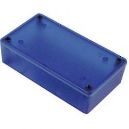 Univerzálne púzdro Hammond Electronics 1591XXLTBU 1591XXLTBU, 87 x 57 x 39 , ABS, modrá (transparentná), 1 ks