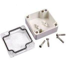 Univerzálne púzdro Hammond Electronics 1554K2GYCL 1554K2GYCL, 160 x 90 x 90 , ABS, svetlo sivá (RAL 7035), 1 ks