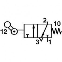 Mechanický ventil pneumatiky Norgren SP/M1553/8, 3/2-cestné
