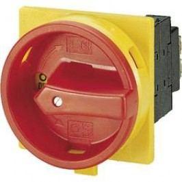Silový vypínač odblokovateľný Eaton P3-100/EA/SVB 74320, 100 A, 690 V, 1 x 90 °, žltá, červená, 1 ks