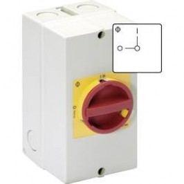 Servisný vypínač Kraus & Naimer KG32B T206/40 KL11V, 1 x 90 °, červená, žltá, 1 ks