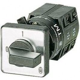 Silový vypínač Eaton TM-1-8291/E 72504, 10 A, 1 x 90 °, sivá, čierna, 1 ks