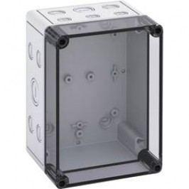 Inštalačná krabička Spelsberg TK PS 1813-11-TM 10651601, (d x š x v) 130 x 180 x 111 mm, polykarbonát, svetlo sivá, 1 ks
