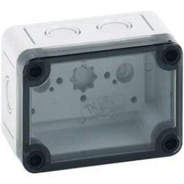 Inštalačná krabička Spelsberg TK PC 97-6-TM 13700201, (d x š x v) 65 x 94 x 57 mm, polykarbonát, svetlo sivá, 1 ks