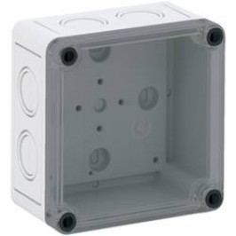 Inštalačná krabička Spelsberg TK PC 1111-7-TM 13700401, (d x š x v) 110 x 110 x 66 mm, polykarbonát, svetlo sivá, 1 ks