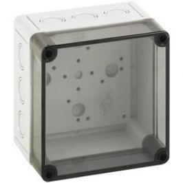Inštalačná krabička Spelsberg TK PC 1313-10-TM 13750501, (d x š x v) 130 x 130 x 99 mm, polykarbonát, svetlo sivá, 1 ks