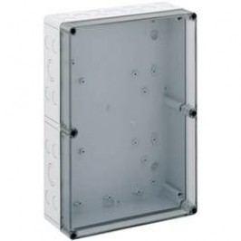 Inštalačná krabička Spelsberg TK PC 3625-11-TM 13701201, (d x š x v) 254 x 361 x 111 mm, polykarbonát, svetlo sivá, 1 ks