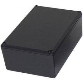 Modulová krabička Axxatronic RX2006/S RX2006/S, 40 x 28 x 18 , ABS, čierna, 1 ks