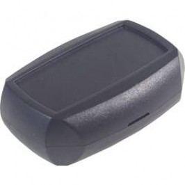 Modulová krabička Axxatronic CHH622BLK-CON 33131201-CON, 55 x 40 x 18 , ABS, čierna, 1 ks