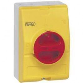 Odpínač BACO BA0172261 BA0172261, 50 A, 1 x 90 °, žltá, červená, 1 ks