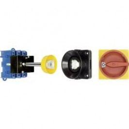 Odpínač s dvernou spojkou Kraus & Naimer KG64B T203/09 VE KG64B T203/09 VE, 63 A, 1 x 90 °, červená, žltá, 1 ks