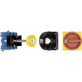 Odpínač s dvernou spojkou Kraus & Naimer KG125 T203/09 VE KG125 T203/09 VE, 125 A, 1 x 90 °, červená, žltá, 1 ks