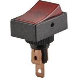 Kolískový spínač do auta TRU COMPONENTS TC-R13-207B2-SQ RED, 1 ks