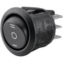 Kolískový spínač s aretáciou/0/s aretáciou TRU COMPONENTS TC-R13-244D-02, 250 V/AC, 10 A, 2x zap/vyp/zap