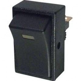 Kolískový spínač do auta TRU COMPONENTS TC-R13-207L-SQ YELLOW 12V/DC, 12 V/DC, 20 A, s aretáciou, 1 ks