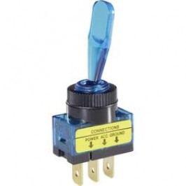 Páčkový prepínač do auta TRU COMPONENTS TC-R13-61B ILLUMINATED BLUE, 1 ks