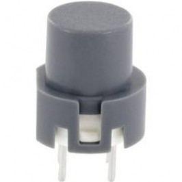 Impulzné tlačidlo TRU COMPONENTS TC-D6GR, 35 V/DC, 0.01 A, sivá, 1 ks