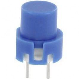 Impulzné tlačidlo TRU COMPONENTS TC-D6BL, 35 V/DC, 0.01 A, modrá, 1 ks