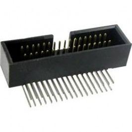 Konektor pre ploché káble TRU COMPONENTS 1589674, raster: 1.27 mm, počet pólov: 10, 1 ks