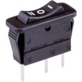 Kolískový spínač bez aretácie/0/bez aretácie Arcolectric C 1522 VB AAB, 250 V/AC, 16 A, 1x (zap)/vyp/(zap), 1 ks