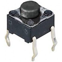 Tlačidlo T602, 24 V/DC, 0.05 A, čierna, 1 ks
