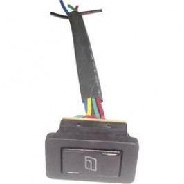 Kolískový spínač do auta na ovládanie okien SCI 28628C17, 12 V/DC, 20 A, bez aretácie/0/bez aretácie, 1 ks