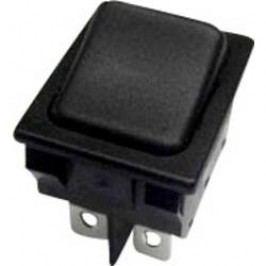 Kolískový spínač s aretáciou SCI R13-117C-01, 250 V/AC, 10 A