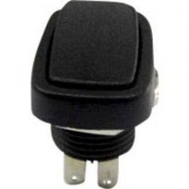 Kolískový spínač s aretáciou SCI R13-213B-03, 250 V/AC, 3 A, 2x zap/zap, 1 ks