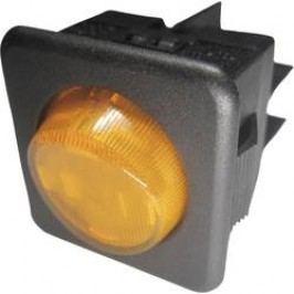 Kolískový spínač s aretáciou SCI R13-104B-01 B/Y, 250 V/AC, 10 A