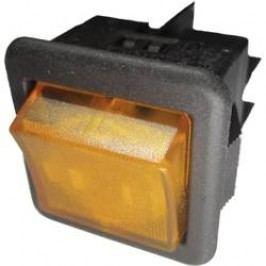 Kolískový spínač s aretáciou SCI R13-105B-01 B/Y, 250 V/AC, 10 A