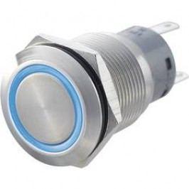 Stláčacie tlačidlo s ochranou pred vandalmi TRU COMPONENTS LAS1-AGQ-22E, GN, 250 V/AC, 5 A, nerezová oceľ, 1 ks