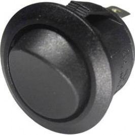 Kolískový spínač s aretáciou SCI 28430C607, 250 V/AC, 6 A, 1 zap/zap, 1 ks