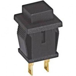 Tlačidlo Eledis SED1UI-2, 20 V DC/AC, 0.02 A, čierna, 1 ks