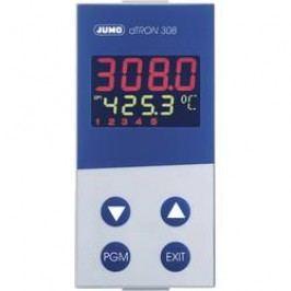 Panelový termostat JUMO dTRON 308, 110 - 240 V/AC, 45 x 92 mm, trojstupňový
